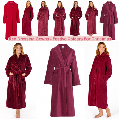 Red Dressing Gowns Housecoats